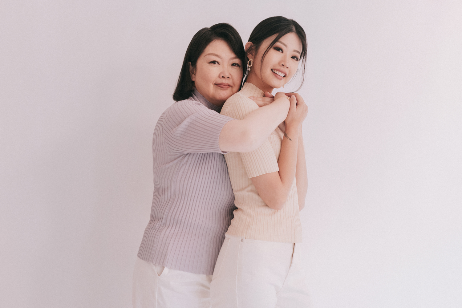 Mother and Daughter Portraits - Emi and Mama Wong