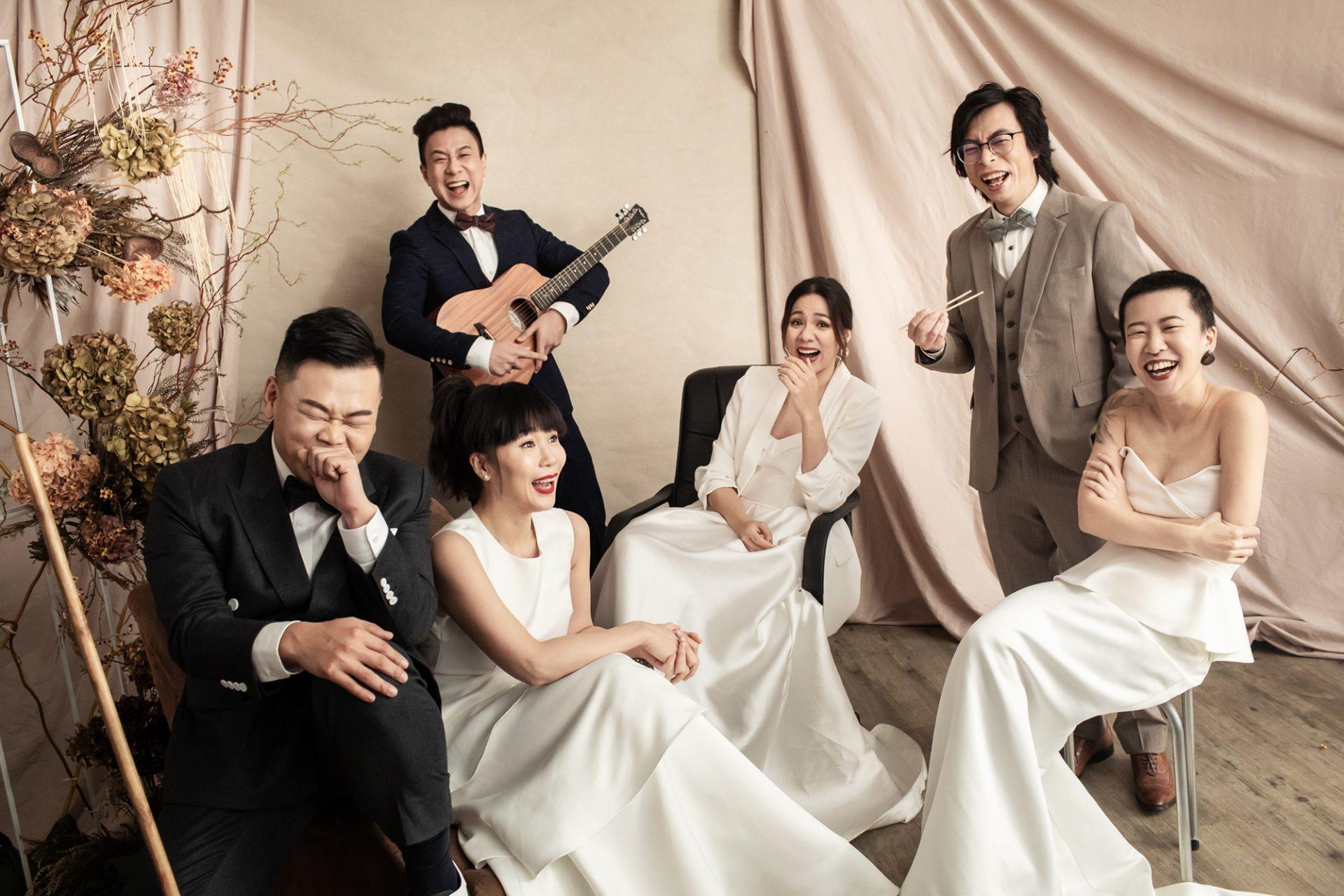 Cover Story of Wedding Magazine |韋羅莎・白只・朱栢康
