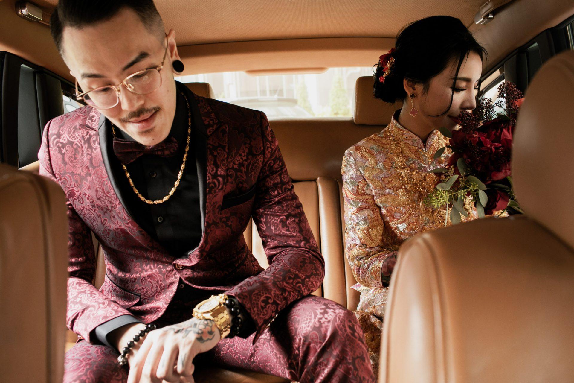 紋身師的愛情   Colette and Murk   Hong Kong Wedding